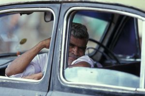 Taxi driver, New Delhi