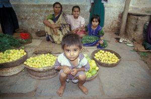 Badami village, Karnataka