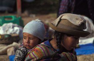 La Paz, local woman