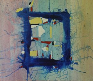 In-Out 70x70 cm acrylic on canvas