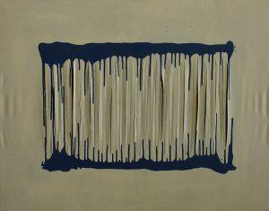 Untitled 80x100 cm acrylic on canvas