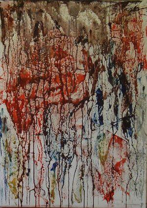 Untitled 50x70 cm acrylic on canvas
