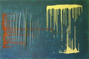 Up_down 70x120 cm acrylic on canvas