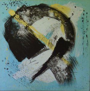 twenty-nine 70x70 cm acrylic on canvas